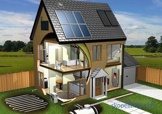 projects, construction of energy-efficient houses, passive house, technology