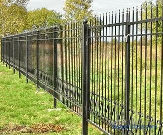 to buy a country fence in Moscow with a gate and a wicket