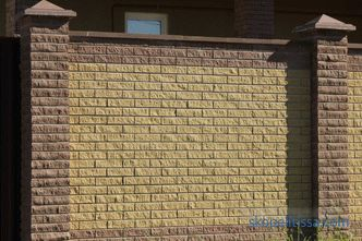 Ripped brick: properties, varieties, production, application