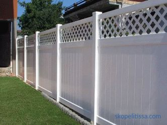 Decorative plastic fence: types, prices, installation technology