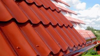Metal roofing - SNiP, which describes the requirements for the material and the technology of its installation