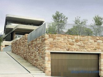 Choosing a garage project from aerated concrete - the nuances of using the material
