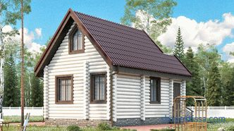 Choosing a house project 6x6 with a mansard - the best ideas