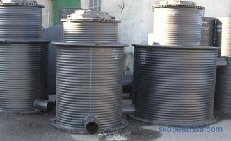 Well for storm sewer: device, types, installation