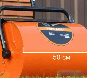 buy cheap in Moscow, buy manual rollers for laying lawn