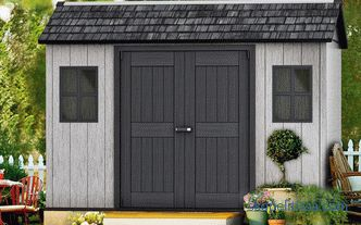 Doors for barn wood and metal, a variety of options and subtleties of choice