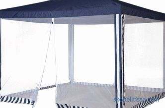 The price in Moscow for garden tents awnings 3x3 meters