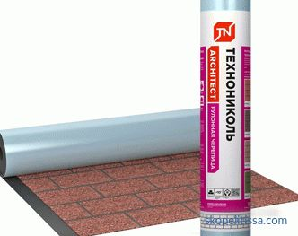 TechnoNIKOL roll tiles, features and purpose of the material, collection and price