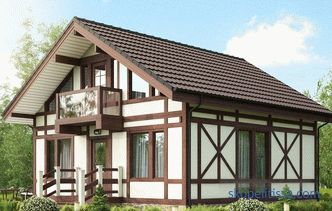 types, pros and cons of frame-panel houses, projects and turnkey prices in Moscow