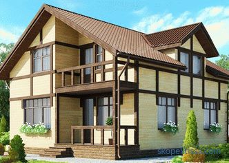 Turnkey frame houses in Moscow: projects, photos and prices