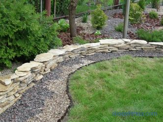 Border for flower beds - photo ideas, how to make a decorative fence for flowers