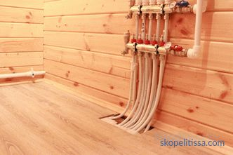 How to make heated floors in a wooden house: options for the device and installation