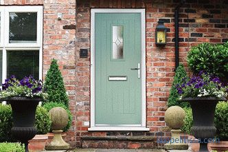 How to choose the best entrance door to a private house