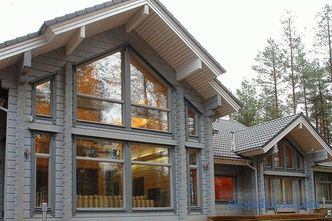 Wooden houses from glued timber in Moscow: photos, projects, prices
