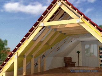 construction and installation of gable roofs
