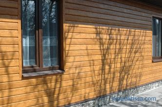 Metal and vinyl wood siding: varieties and photo examples