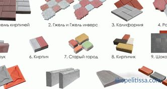 Paving slabs for tracks in the country, price per m2 in Moscow