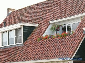 Dormer windows on the roof, their purpose, types of structures, drawings, dimensions