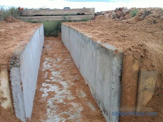 Entering the site through a ditch - solutions to the problem
