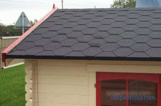 How to cover the roof of the garage - choose the roofing material