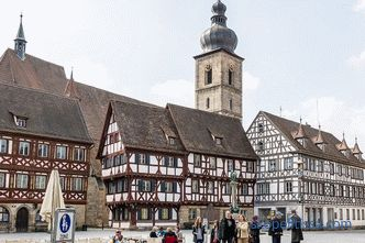 Half-timbered houses - frame construction