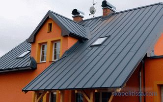 Aluminum roof, features, advantages and types of roofing material