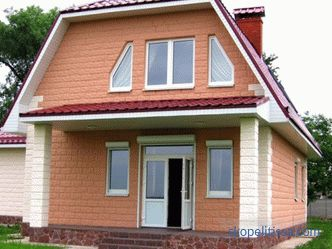 Houses from turnkey heatblocks in Moscow: projects, prices and photos