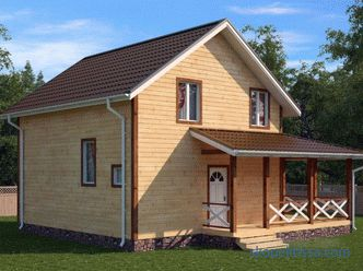 House project 7 by 9 with an attic - the advantages and disadvantages of finished housing