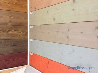 Paint for imitation of timber outside and indoors: selection and application