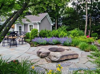 Stones in landscape design - scope