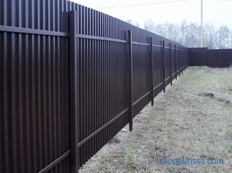 What should be the height of the fence between adjacent areas: standards, calculations, controversial issues