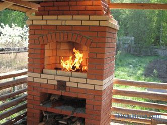 Brick barbecue stoves to buy outdoor summer garden gazebos barbecue complexes for summer cottages in Moscow