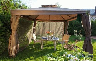 Awnings and tents for garden (garden), waterproof, windproof to buy cheap in Moscow