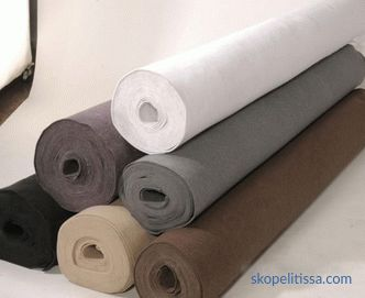 sizes, types and prices per m² / roll