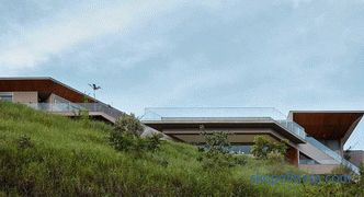 Country house on the top of a mountain in the city of Belo Horizonte, Brazil