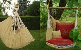 Garden swings - which ones are better to choose, how to properly operate