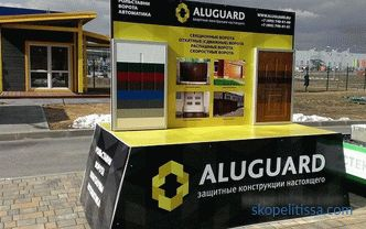New exhibition stand from ALUGUARD company in