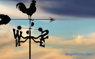 Weather Vane for Roof, buy weather vane in Moscow, price for weather vane, copper weather vane