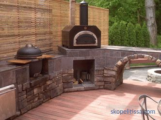 Projects of summer kitchen in the country with a barbecue grill - interesting ideas, photos