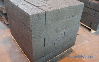 Blocks for the construction of the garage: a comparison of the proposed products