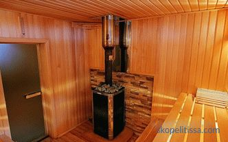 steam rooms, calculation for 4 people, width, height, how to choose, photo