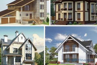 Houses with a turnkey basement, cottages with basement, projects and prices in Moscow, a catalog and photos