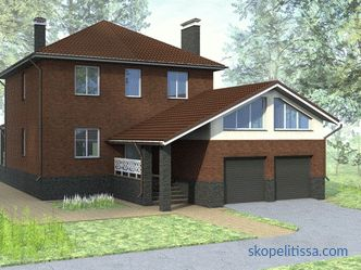 The extension of the garage to the brick house: options and rules of construction