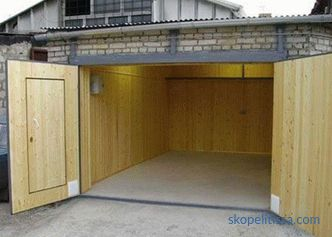 What to make a garage: choose the optimal material