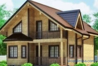Construction of the house on turnkey Canadian technology, projects, price