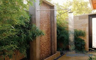 Summer, garden, plastic, wooden shower to buy in Moscow