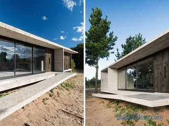 New house Lucciano Crook - concrete and wood