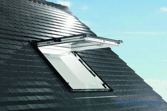 The price of the roof window on the roof, the cost of installation of the roof window on the roof