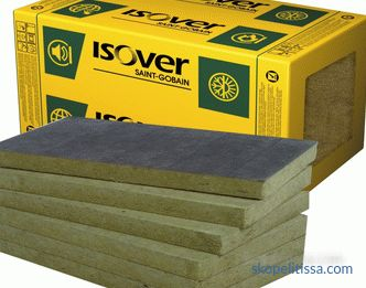 Insulation Isover - technical characteristics and scope of application