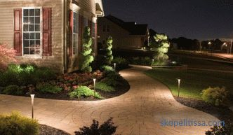 Landscape lighting - the main tasks and rules of the project